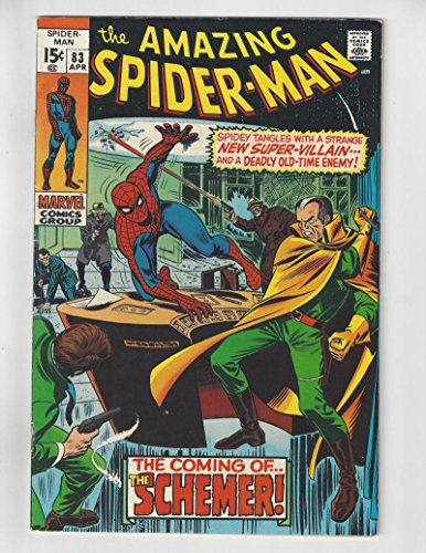 The Amazing Spider-Man #83/Bronze Age Marvel Comic Book/1st Schemer/FN-VF