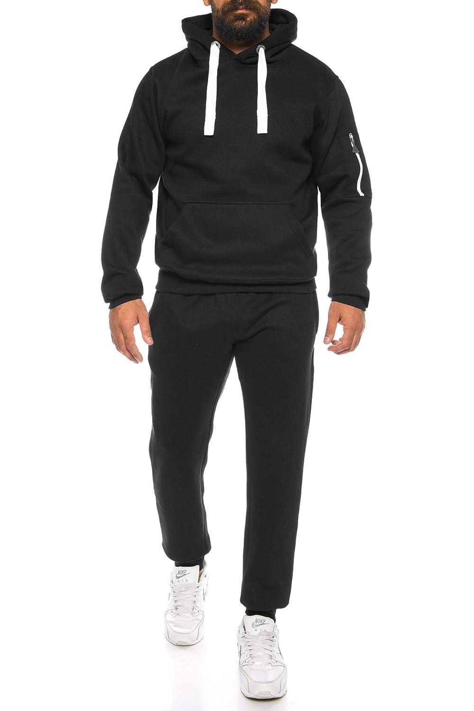 Finchman Herren Trainingsanzug Rip Style Sweatshirt FJSR FHPN Sport Pullover Hoodie