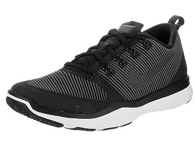 Nike Men's Free Train Versatility Black (Black/Black-White) Fitness Shoes -