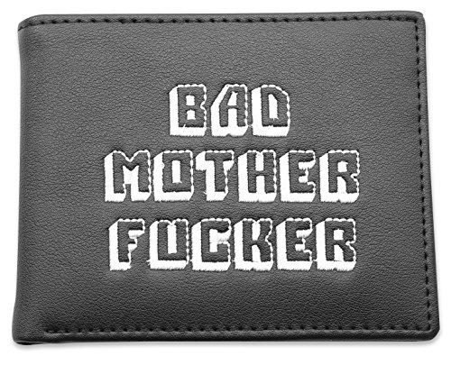 Pulp Fiction black wallet - Bad Mother Fucker