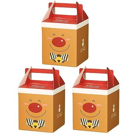 Wa 3X Cajas de Regalo Decorativa Cajas de Dulces Cajas de Regalo para Navidad