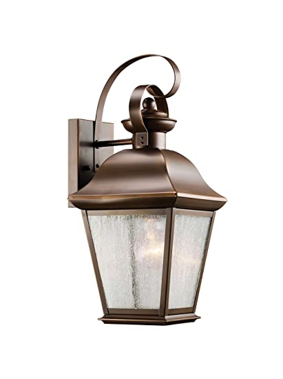 Kichler 9708oz one light outdoor wall mount