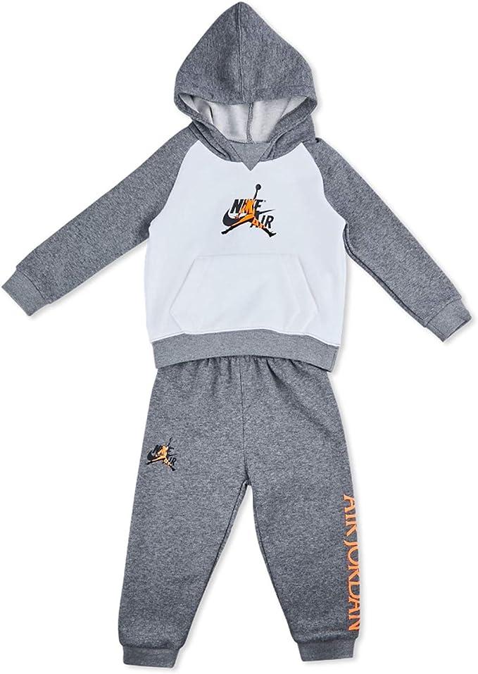 alcanzar empeorar Desigualdad  Nike Jordan 856460-GEH - Chándal para niño, color blanco Bianco 6 años:  Amazon.es: Ropa y accesorios