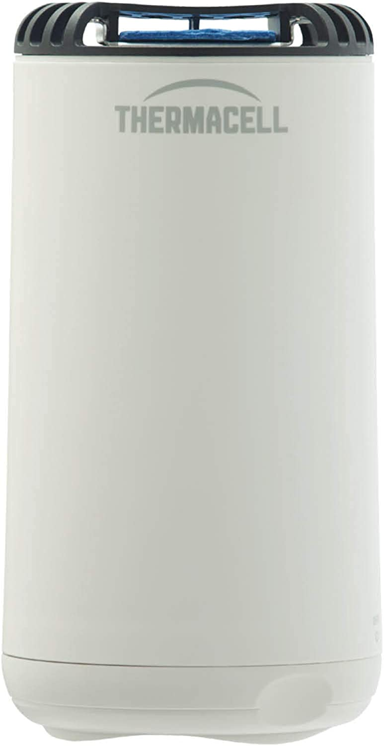 Thermacell Patio Shield Mosquito Repeller, White; Easy to Use, Highly Effective; Provides 12 Hours of DEET-Free Backyard Mosquito Repellent; Scent-Free, No Spray, No Smoke and Cordless, Standard