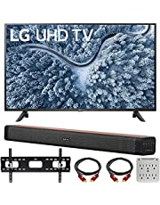 $519 » LG UP7000PUA 43 Inch Series 4K Smart UHD TV (2021) Bundle with Deco Home 60W 2.0 Channel Soundbar, 37-70 inch TV Wall Mount Bracket Bundle and 6-Outlet Surge Adapter