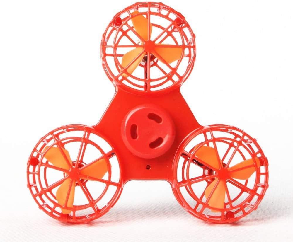 Vehículo del vuelo yema del dedo giroscópico suspensión magnética presión volante sin piloto juguete aburrido juguete reducción,Orange
