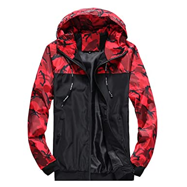 Amazon.com: Aworth Jacket Men Fashion Camouflage Military ...