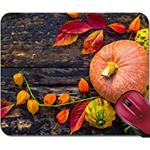 Liili Mousepad IMAGE ID: 23027085 Autumn setting on the wooden table with fruits and vegetables