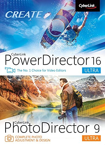 PowerDirector 16 & PhotoDirector 9 Ultra [PC Download]