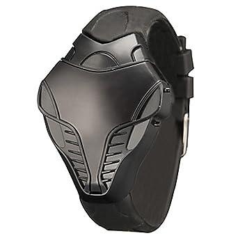Muñeca de marcación Deportes correa de silicona LED digital Cobra Iron Man Triángulo YPS Hombres reloj WTH2940: Amazon.es: Relojes