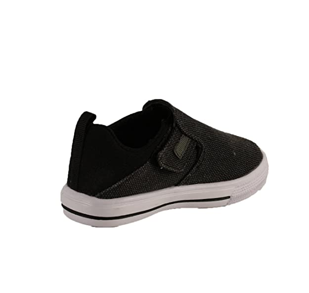 Dream Seek Boys Casual Slip-On Strap Fashion Sneaker