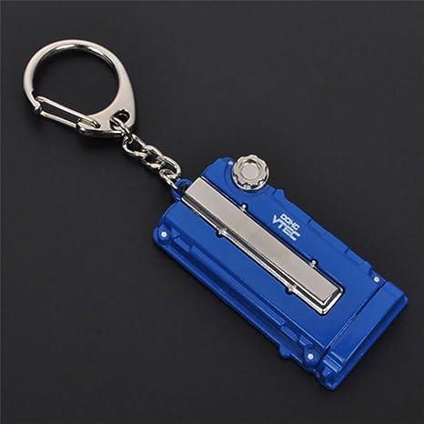 Honda motor válvula para coche Llavero azul: Amazon.es ...