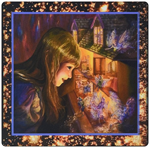 Price comparison product image 3dRose LLC 8 x 8 x 0.25 Inches Dollhouse Fairies Mouse Pad (mp_14851_1)