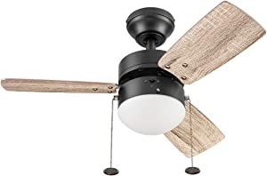 Prominence Home 51587 Rawling Ceiling Fan, 30, Bronze