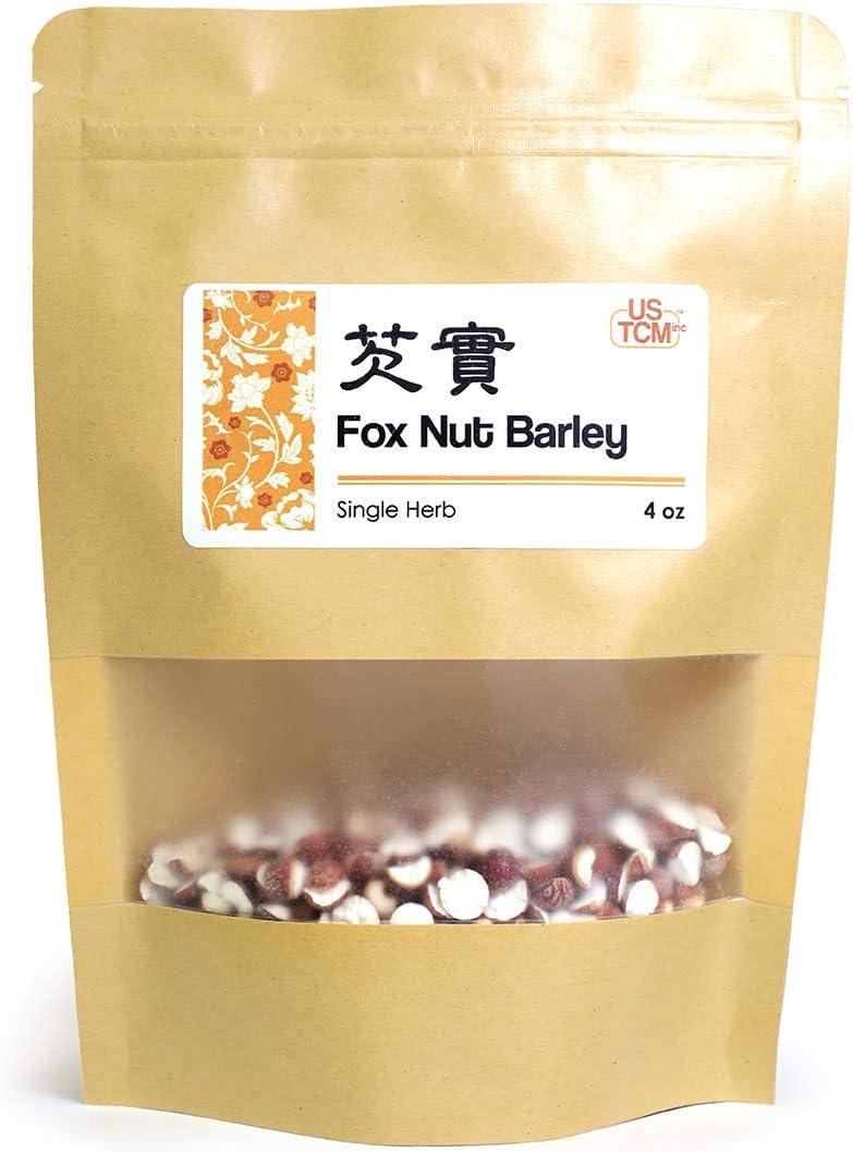 New Packaging Fox Nut Barley Euryale Ferox Dried Nuts 茨实 4 Oz
