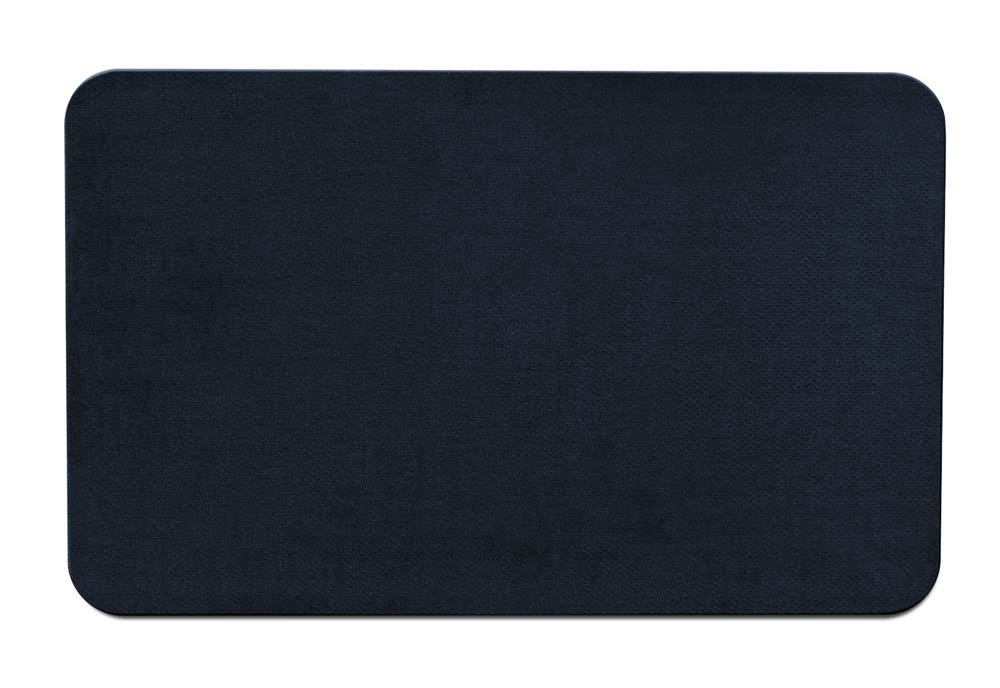 House, Home and More Skid-Resistant Carpet Indoor Area Rug Floor Mat - Navy Blue - 3' X 5' - Many Other Sizes to Choose from