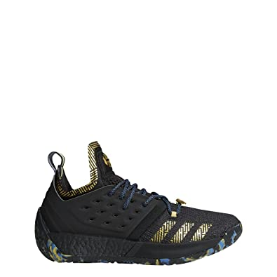d971a7052a60 adidas Harden Vol. 2 MVP Shoe - Men s Basketball 14.5 Core Black Gold  Metallic