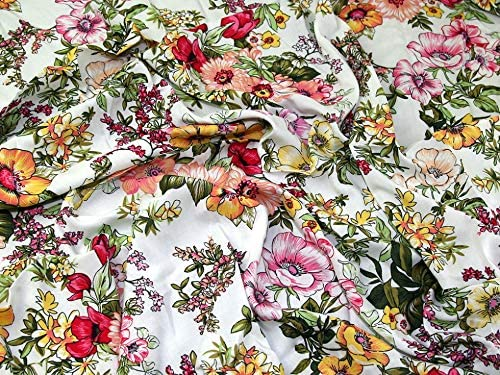 Rayon Challis Fabric Sold per Metre