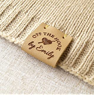 Product Tags Knitting Labels For Handmade Items Leather Crochet