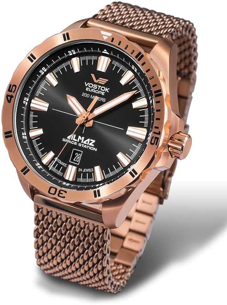 Orologio vostok europe armbanduhr nh35a-320b259 b herrenuhr NH35A-320B259-B
