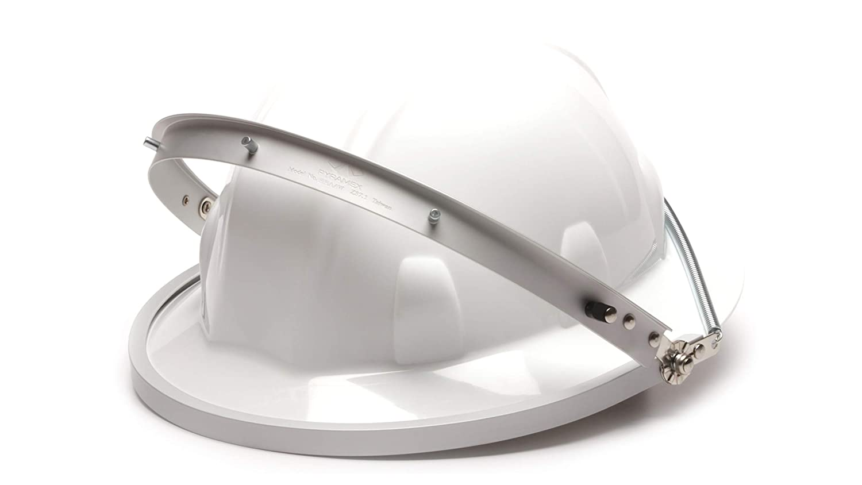 Pyramex Aluminum Full Brim Hard Hat Face Shield Adapter