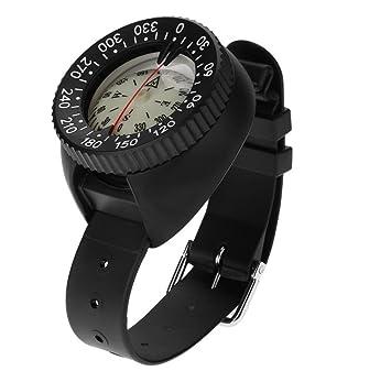 Hycy Mini Reloj De Pulsera De Diseño Al Aire Libre Ligero Brújula De Plástico Impermeable A Prueba De Agua para El Buceo De Natación Accesorios De Deportes ...