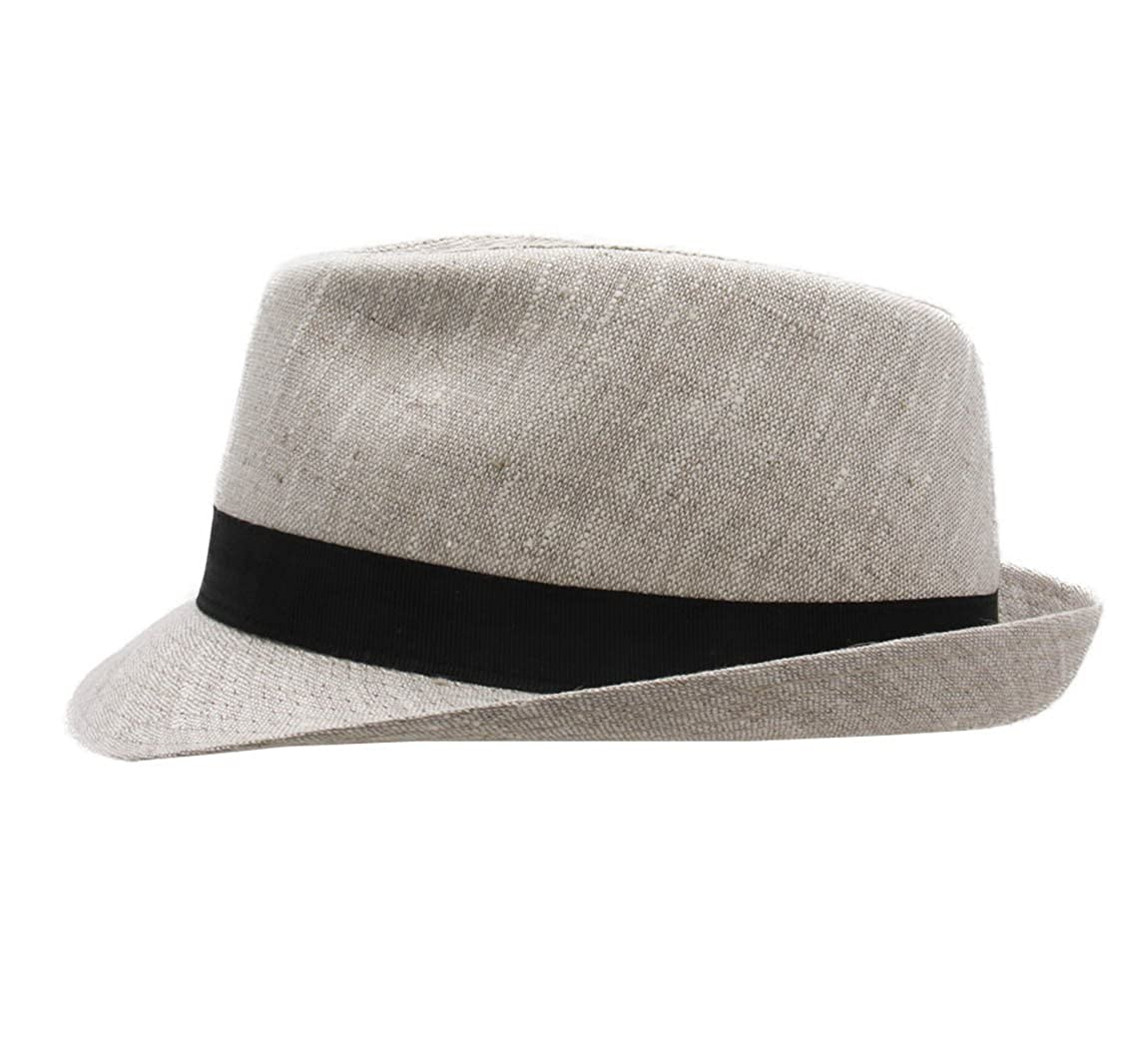 Classic Italy Trilby Lin Trilby Hat