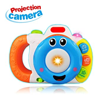 Gift For 2 4 Year Old Boys Girls Camera Toy 12 24 Month Baby Music