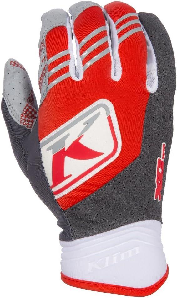 Klim XC Mens MotoX Motorcycle Gloves Red 2X-Large