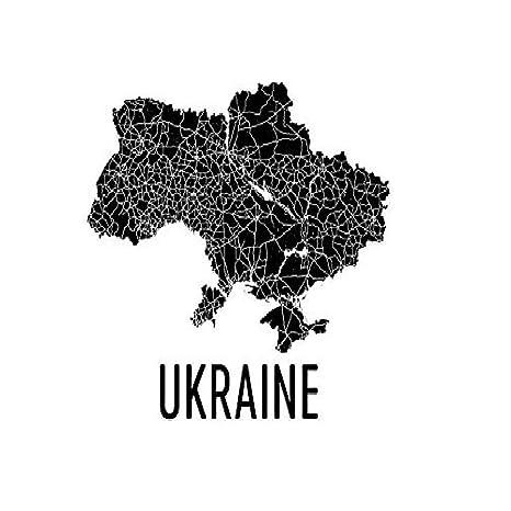 Tarjeta de Ucrania, Art, de Ucrania Ucraniano Regalo ...