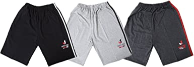 Jack's Star Boy's and Girl's Cotton Bermuda with Pocket -Pack of 3 Boys' Shorts at amazon