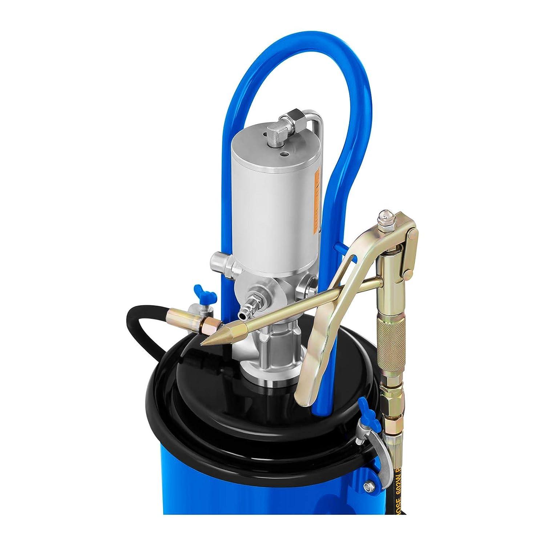 12 L, 300-400 Bars, Compression 50:1, D/ébit 0,85 l//Min MSW Pompe /À Graisse Pneumatique Professionnelle Appareil Graissage Lubrification Pro-G 12M
