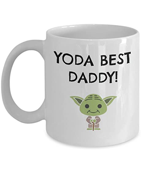 a728d7562 Image Unavailable. Image not available for. Color: Yoda Best Daddy Mug,  Funny Coffee Mug for Dad from Daughter