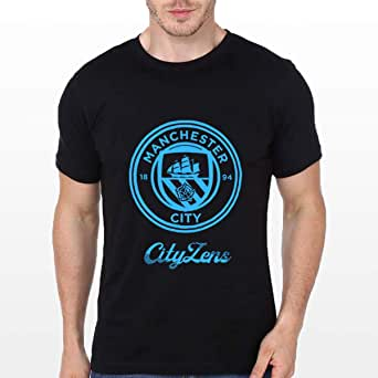 Printed T-Shirt for Men, Size L