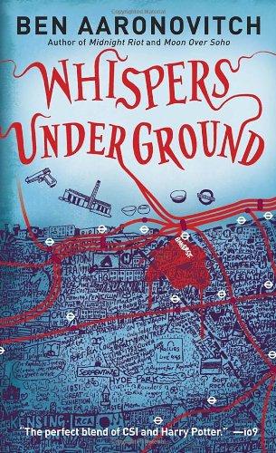 """""""Whispers Under Ground"""" av Ben Aaronovitch"""