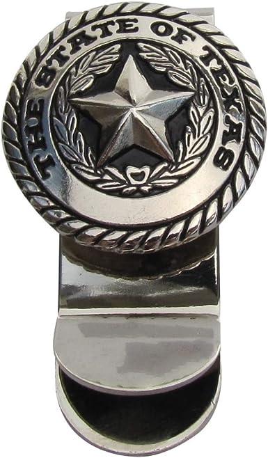Treasure Gurus Silver Texas State Seal Men S Money Clip Mens Wallet Card Holder Tx Souvenir Gift At Amazon Men S Clothing Store