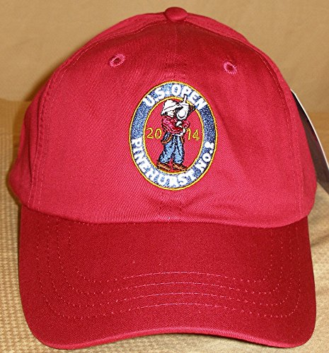 Golf Hat Imperial (U.s. Open 2014 At Pinehurst No.2 Imperial Adjustable Solid Unstructured Hat (Red))