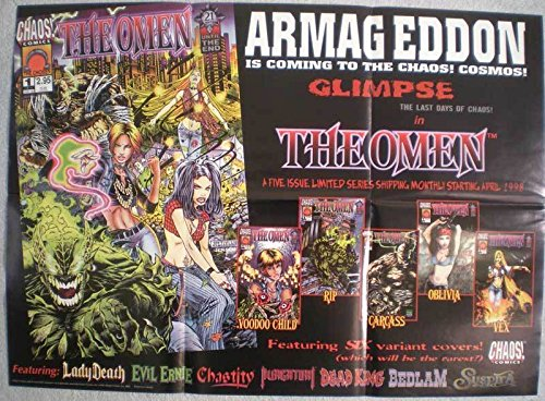 OMEN Promo poster,Chaos Comics, 24