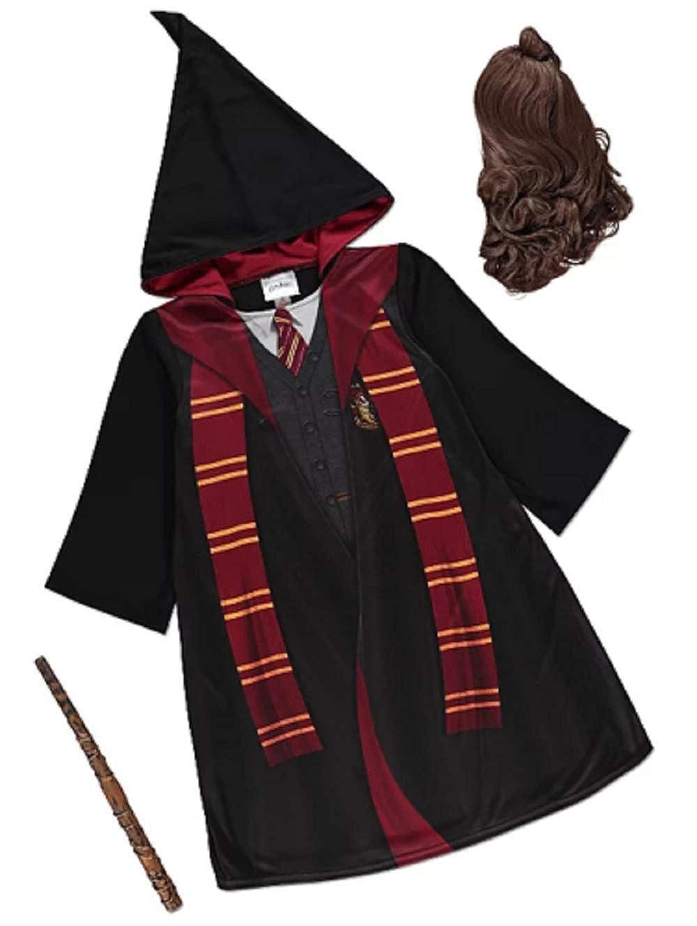Disfraz de Hermione Granger de Harry Potter Negro Bl 5-6 Años ...