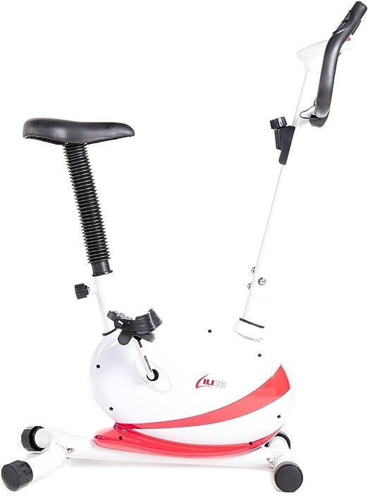 ILICO Bici Estática B1.0 Blanca (Talla: T.U.): Amazon.es: Deportes ...