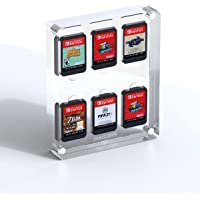Hagibis Game Card Case voor Nintendo Switch, 6 Cartridge Slots Houder Beschermende Schokbestendige Vitrinekast…