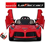 Licensed Ferrari LaFerrari 12v Electric Kids Ride on Car with Remote - Red by Rastar