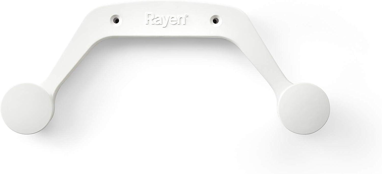 Rayen Colgador para tabla de planchar , blanco, poliamida, 30,7x12,80 cm