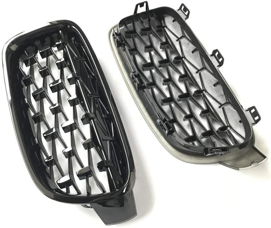 Griglie per griglia a rene stile M3 a una coppia , per BMW Serie 3 2012~2018 F30 F31 F35 316i 318d 320i 325d Griglie anteriori stile diamante