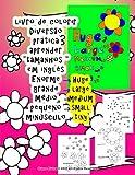 Livro de Colorir Grande Medio Pequeno Aprender Tamanhos Em Ingles Para Criancas Todos Quem Quer Aprender Inglesnull