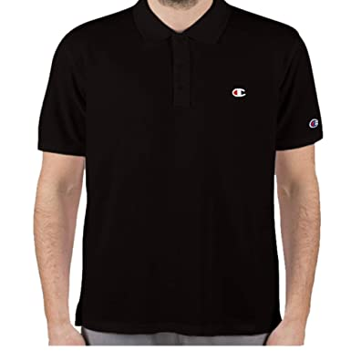 Champion Mens Big and Tall Short Sleeve Pique Polo Shirt: Amazon ...