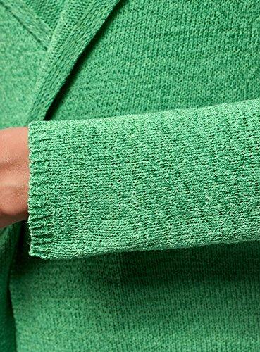 6500n Filato Oodji Collection Verde Liscio Cardigan Donna In 0wTnRwvx