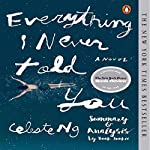 Summary & Analysis - Everything I Never Told You: by Celeste Ng | Book Junkie