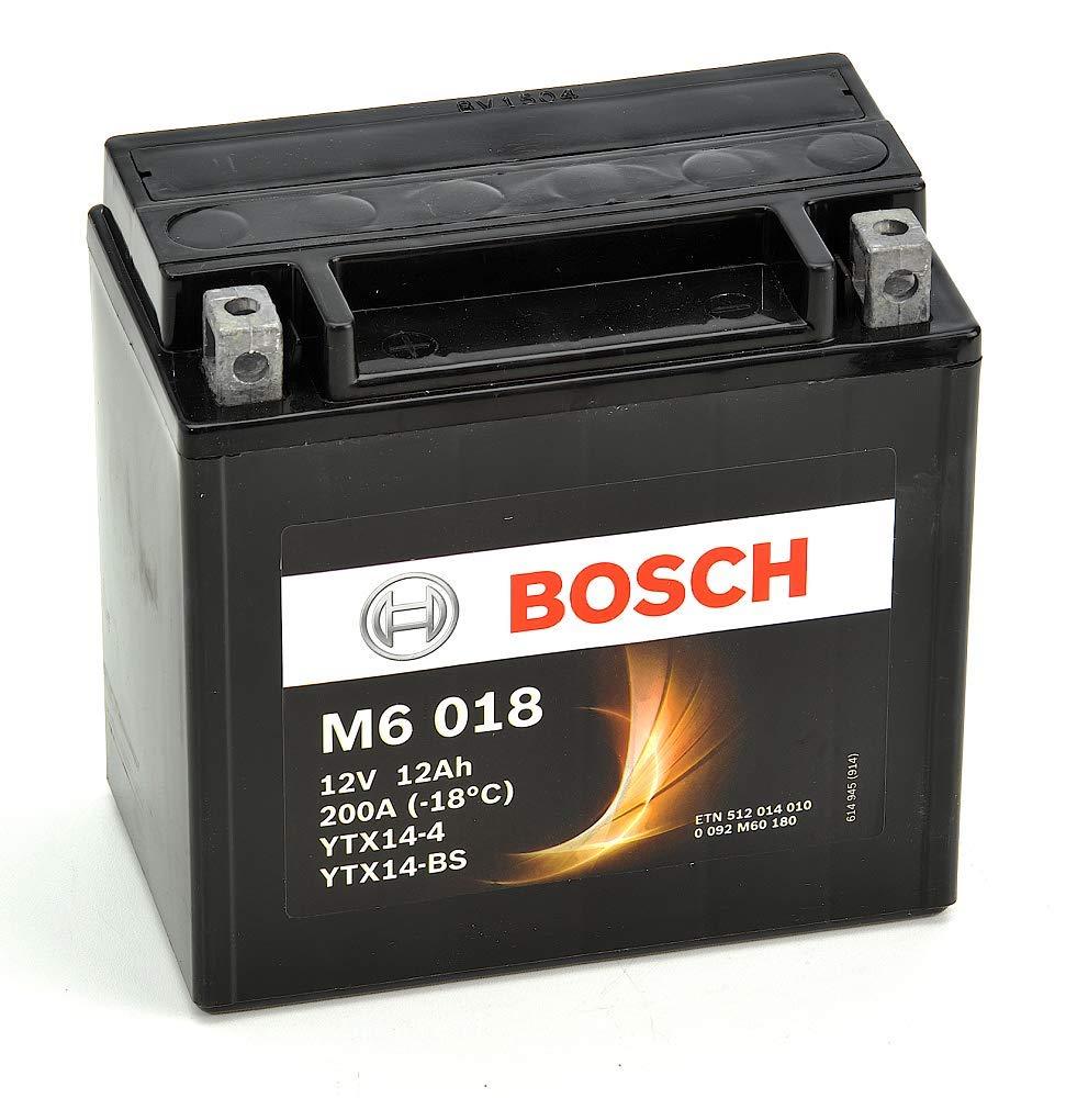 Bosch 512014010 Batteria Ytx14-Bs 12V 12Ah