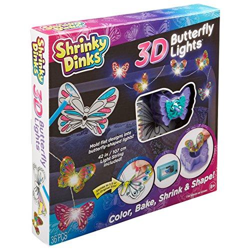 Shrinky Dinks 3D Butterfly Lights -